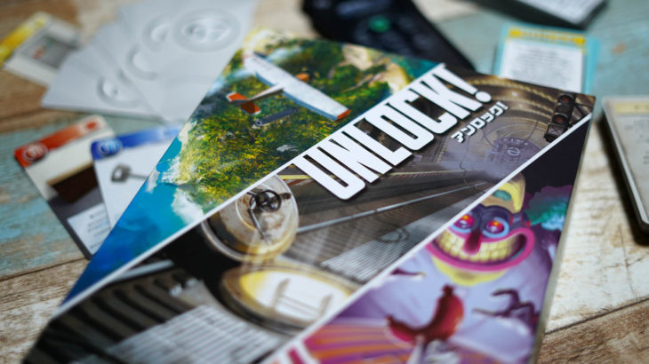 パズルを組み合わせて脱出せよ!3つの物語を楽しめる協力型カードゲーム『アンロック!(UNLOCK!)』ルール&レビュー